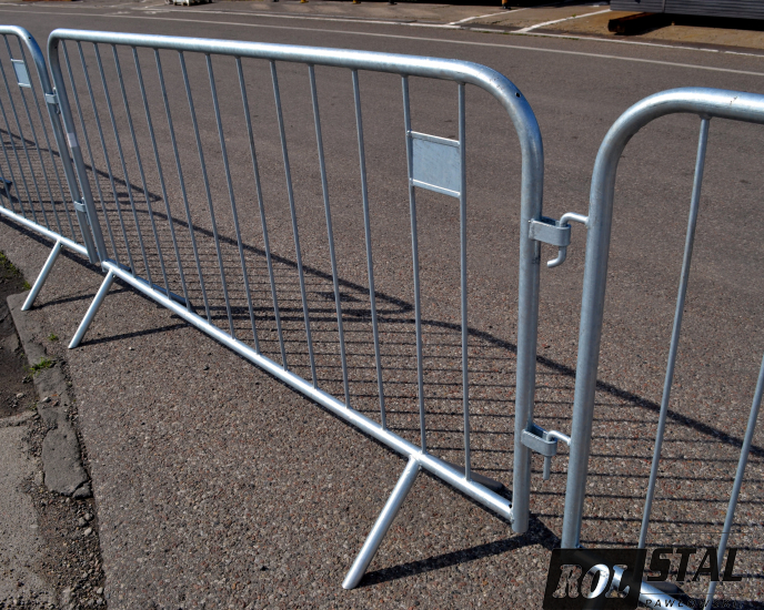 barierki przenośne